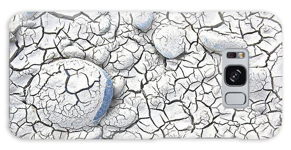 Cracked Earth Galaxy Case by Nareeta Martin