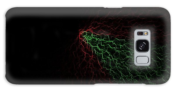 Crackle Galaxy Case by Jeff Iverson
