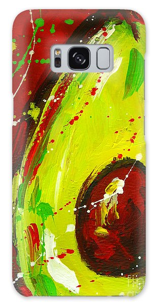 Crazy Avocado 3 - Modern Art Galaxy Case