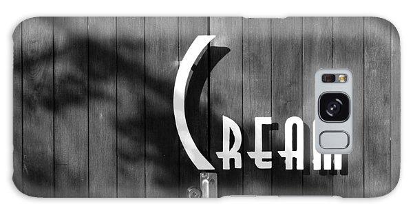 Cream Galaxy Case by Jeannette Hunt