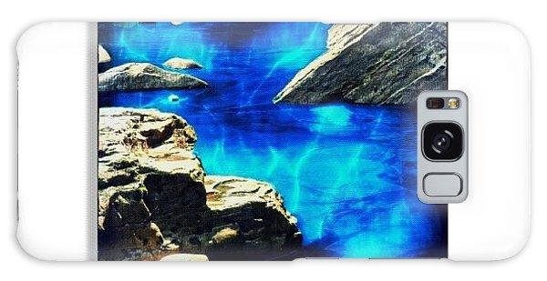 Edit Galaxy Case - Creek by Mari Posa