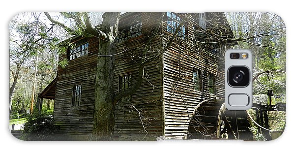 Cross Eyed Cricket Grist Mill Galaxy Case by Paul Mashburn