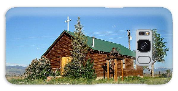 Crowheart Church Galaxy Case