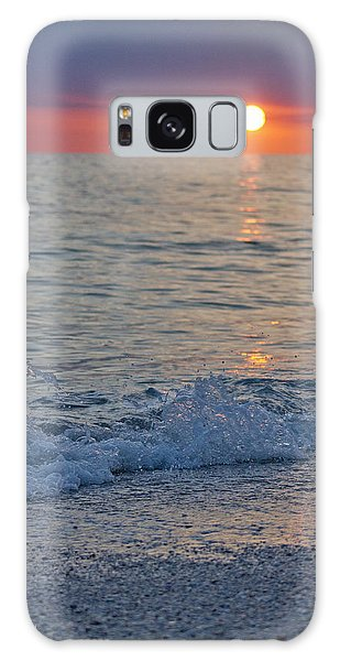 Crystal Blue Waters At Sunset In Treasure Island Florida 2 Galaxy Case