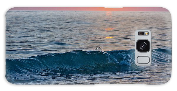 Crystal Blue Waters At Sunset In Treasure Island Florida 3 Galaxy Case