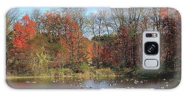 Ct Autumn Lake. Galaxy Case
