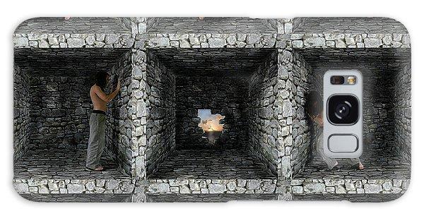 Cube  Galaxy Case by Mariusz Zawadzki