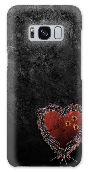 Cupid's Upgrade Galaxy Case by Kenneth Armand Johnson