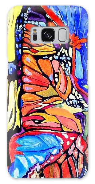 Butterflies Wings  Galaxy Case