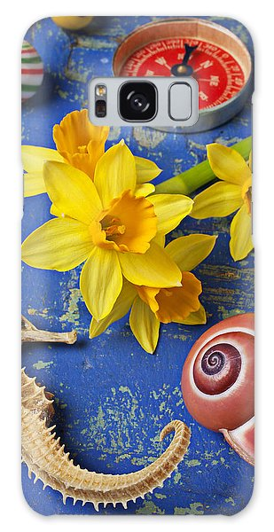Daffodils And Seahorse Galaxy Case