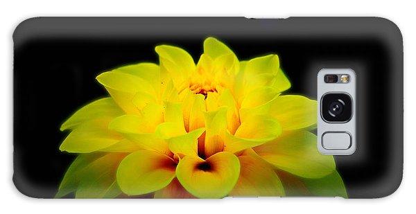 Dahlia Delight Galaxy Case by Jeanette C Landstrom