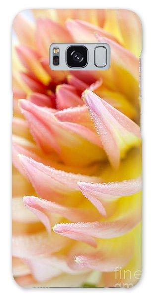 Soft Galaxy Case - Dahlia Flower 13 by Nailia Schwarz