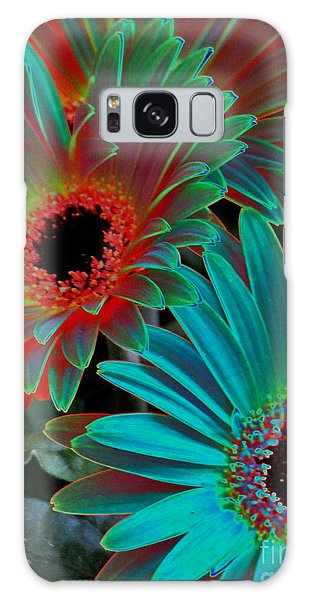 Daisies From Another Dimension Galaxy Case by Rory Sagner