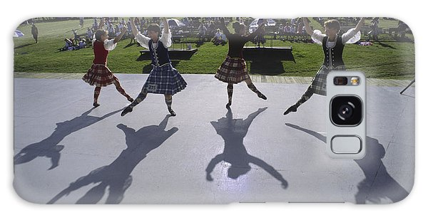 Cabot Trail Galaxy Case - Dancers At A Gaelic Mod Held At Gaelic by Michael Melford