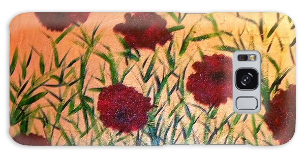 Dancing Poppies Galaxy Case