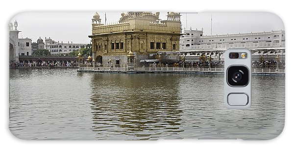Darbar Sahib And Sarovar Inside The Golden Temple Galaxy Case