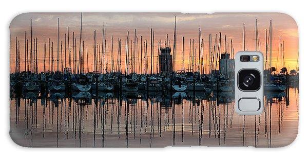 Dawn At The Marina Galaxy Case