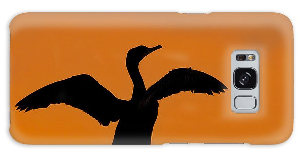 Dawn Of A Double-crested Cormorant  Galaxy Case