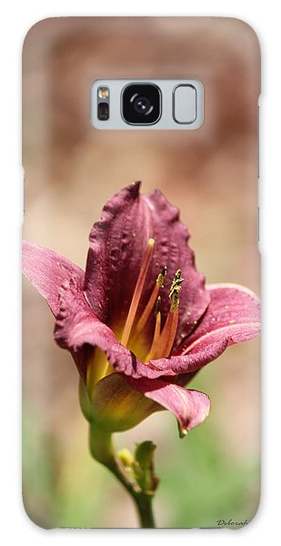 Day Lily Galaxy Case by Deborah Hughes