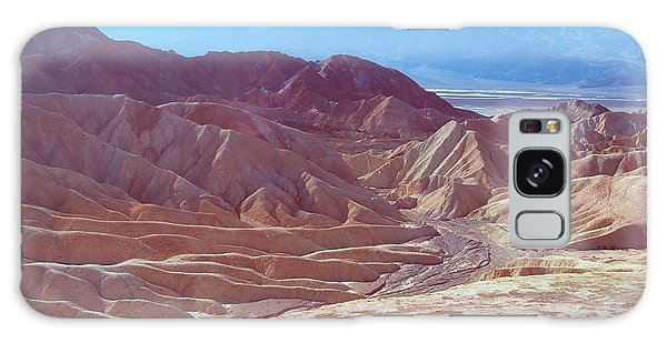 Death Valley Galaxy Case - Death Valley Mountains 2 by Naxart Studio