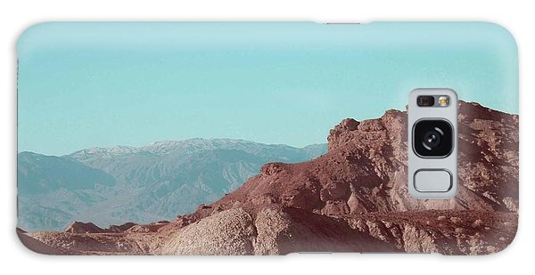 Death Valley Galaxy Case - Death Valley Mountains by Naxart Studio