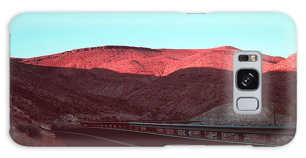 Death Valley Galaxy Case - Death Valley Road 4 by Naxart Studio