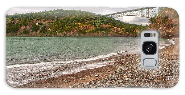 Deception Pass Washington Galaxy Case by Artist and Photographer Laura Wrede