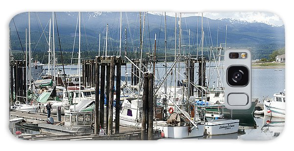 Deep Bay Harbor Galaxy Case by Artist and Photographer Laura Wrede
