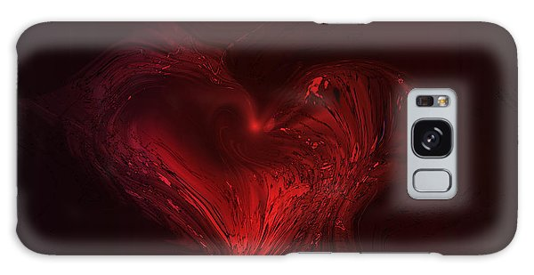 Deep Hearted Galaxy Case