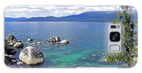 Deep Waters Lake Tahoe Galaxy Case