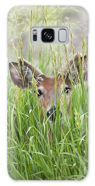 Deer In Hiding Galaxy Case