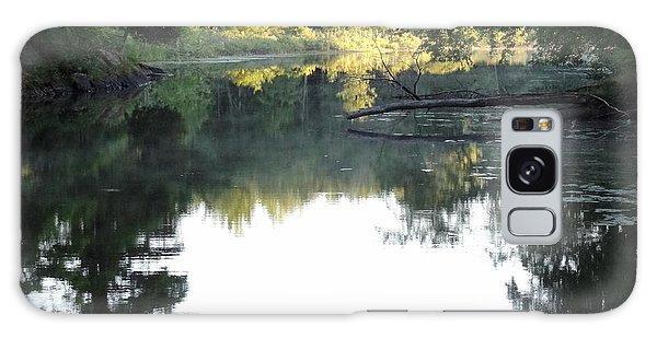 Deer River In Early Sun Galaxy Case