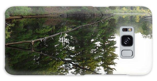 Deer River Reflection Galaxy Case