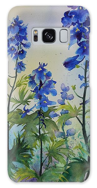 Delphiniums Galaxy Case