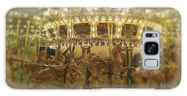 Dentzel Carousel At Glen Echo Park Maryland Galaxy Case