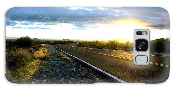 Desert Highway Galaxy Case