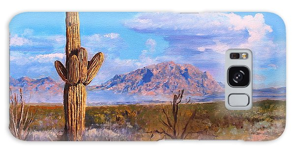 Desert Scene 4 Galaxy Case