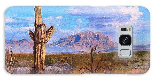 Desert Scene 4 Galaxy Case by M Diane Bonaparte