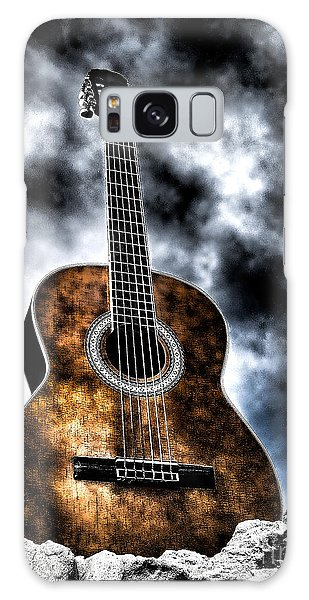 Devils Acoustic Galaxy Case by Jason Abando