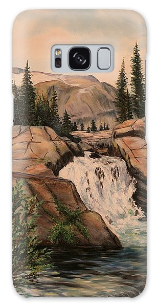 Dewey Falls Galaxy Case