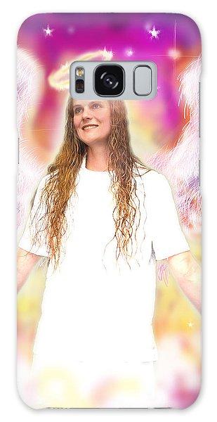 Diamond.angelic 4 Galaxy Case