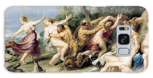 Mythological Galaxy Case - Diana And Her Nymphs Surprised By Fauns by Rubens