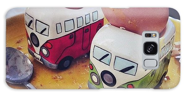 Vw Camper Galaxy Case - Dippy Egg For Breakfast #yummy #egg by Holly Peters