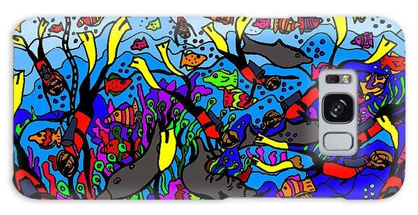 Galaxy Case - Divers Of The Deep by Karen Elzinga