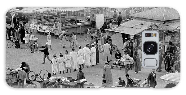 Djemaa El Fna Marrakech Morocco Galaxy Case by Tom Wurl