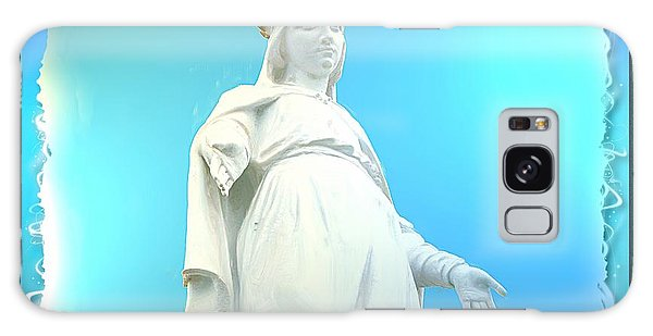 Do-00531 Our Lady Of Lebanon Galaxy Case by Digital Oil