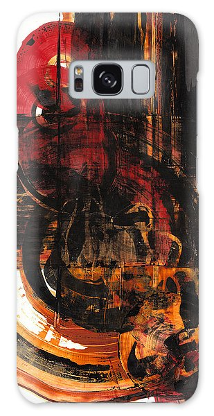 Don't Worry Be Happy  120.122210 Galaxy Case by Kris Haas