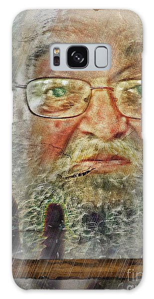 Don't You See Me?  I'm Here. .  Galaxy Case by Rhonda Strickland