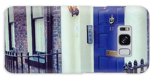 Classic Galaxy Case - #door #house #light #liverpool #uk by Abdelrahman Alawwad