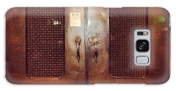 #door#photography#art#steampunk#prison Galaxy Case